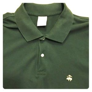 Brooks Brothers forest green polo shirt